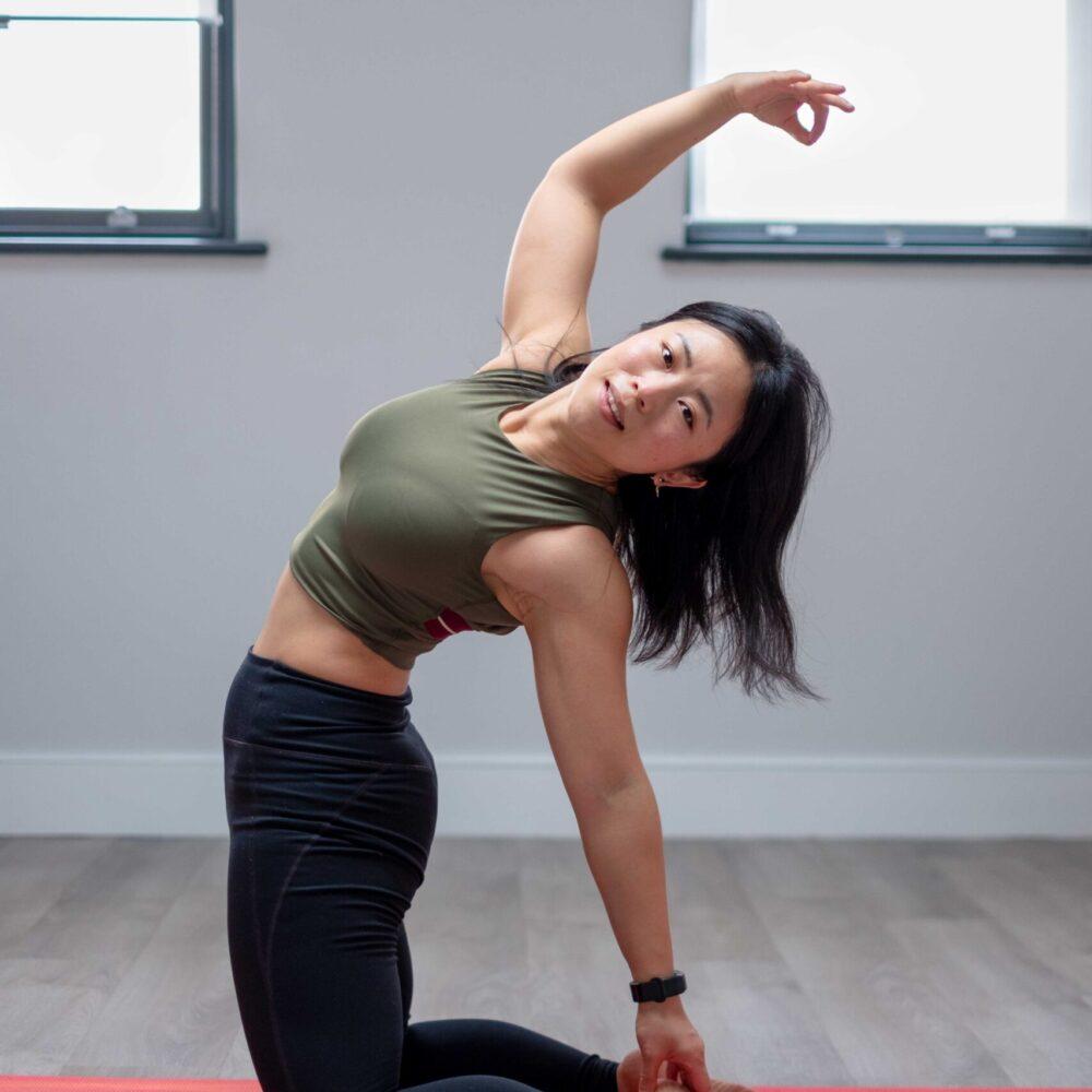 跑动英伦瑜伽课